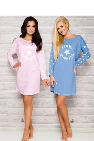 Nightshirt model 99089 Taro (Pink)